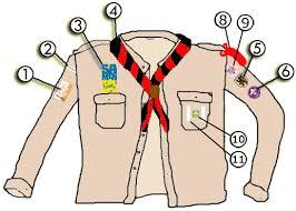 Jong-verkenner uniform